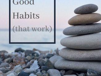 feel good habits that work