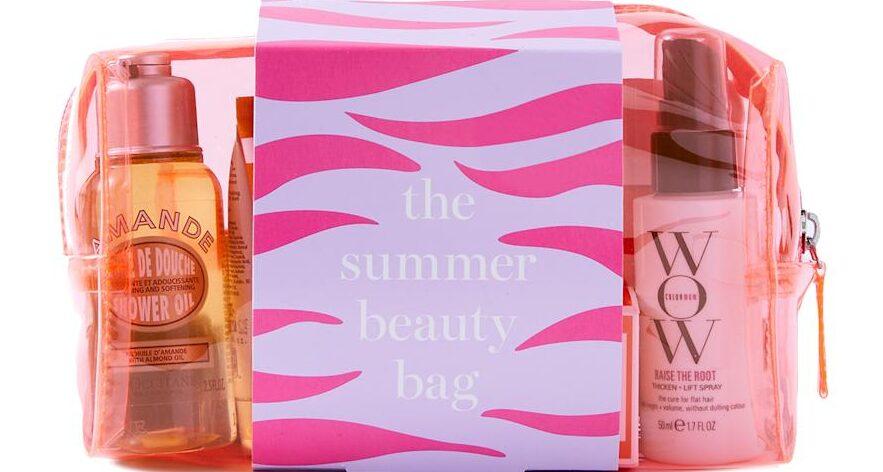 marks and spencer summer beauty bag 2021