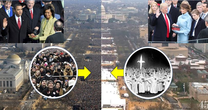 Newly released Park Service photo proves Trump was right about crowd size