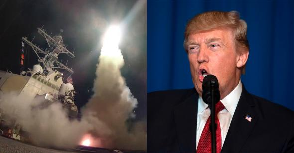 Trump declares US missile strike a failure as approval rating flatlines