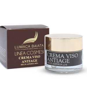 Crema viso Plus antiage 40% bava di lumaca vaso vetro luxe 50ml