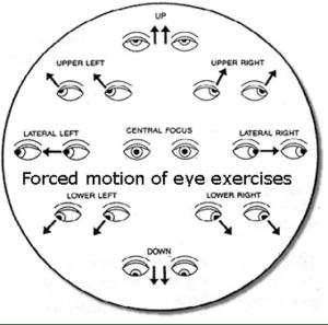 esercizi per gli occhi