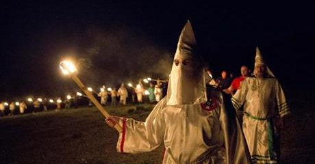 Klan leaders feel that politics are going their way…
