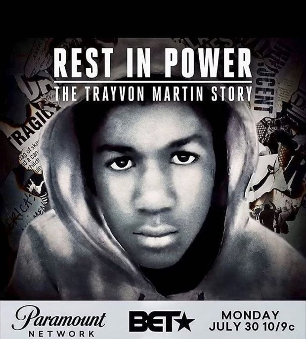 #RestInPower: The Trayvon Martin Story, a six-part docu-series beginning tonight