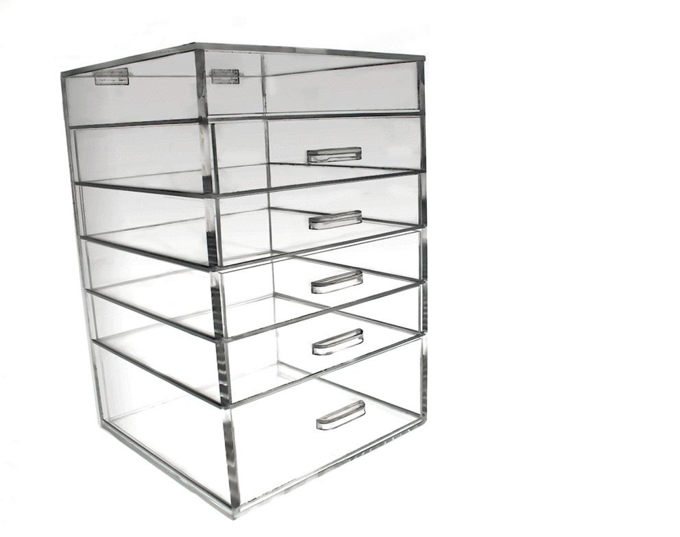 Acrylic Makeup Organizer With Drawers India