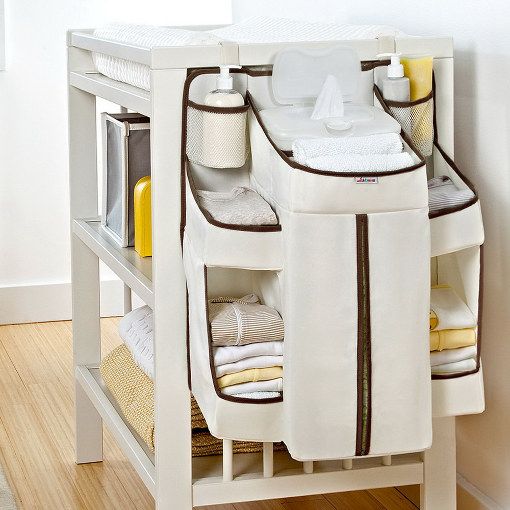Baby Changing Table Organizer