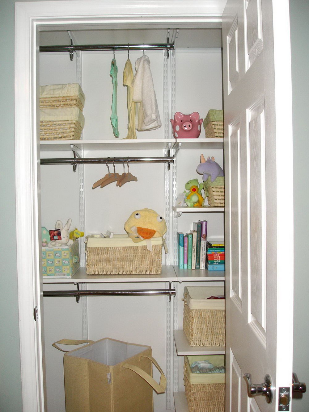 Baby Closet Organizer Ideas