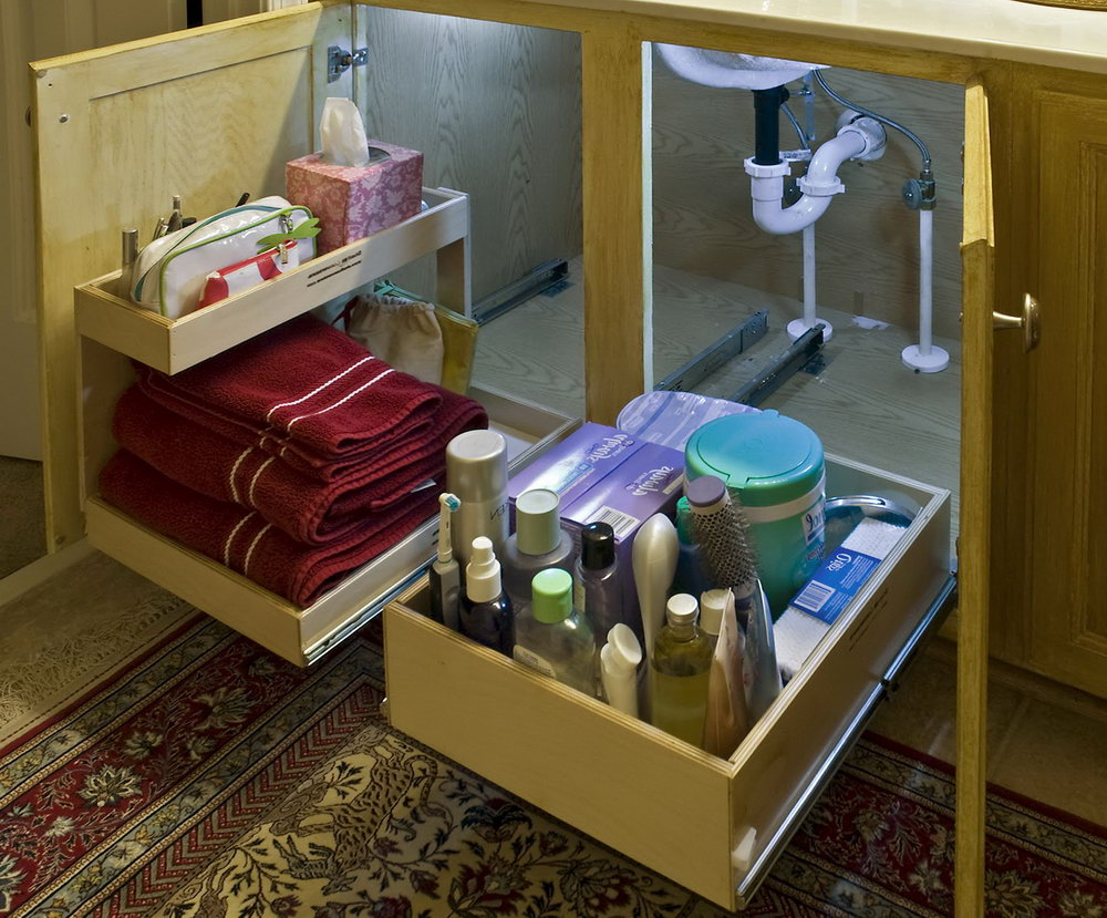 Bathroom Cabinet Organizers Pull Out