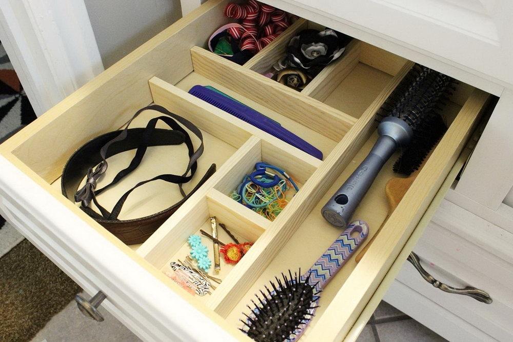 Bathroom Drawer Organizer Diy