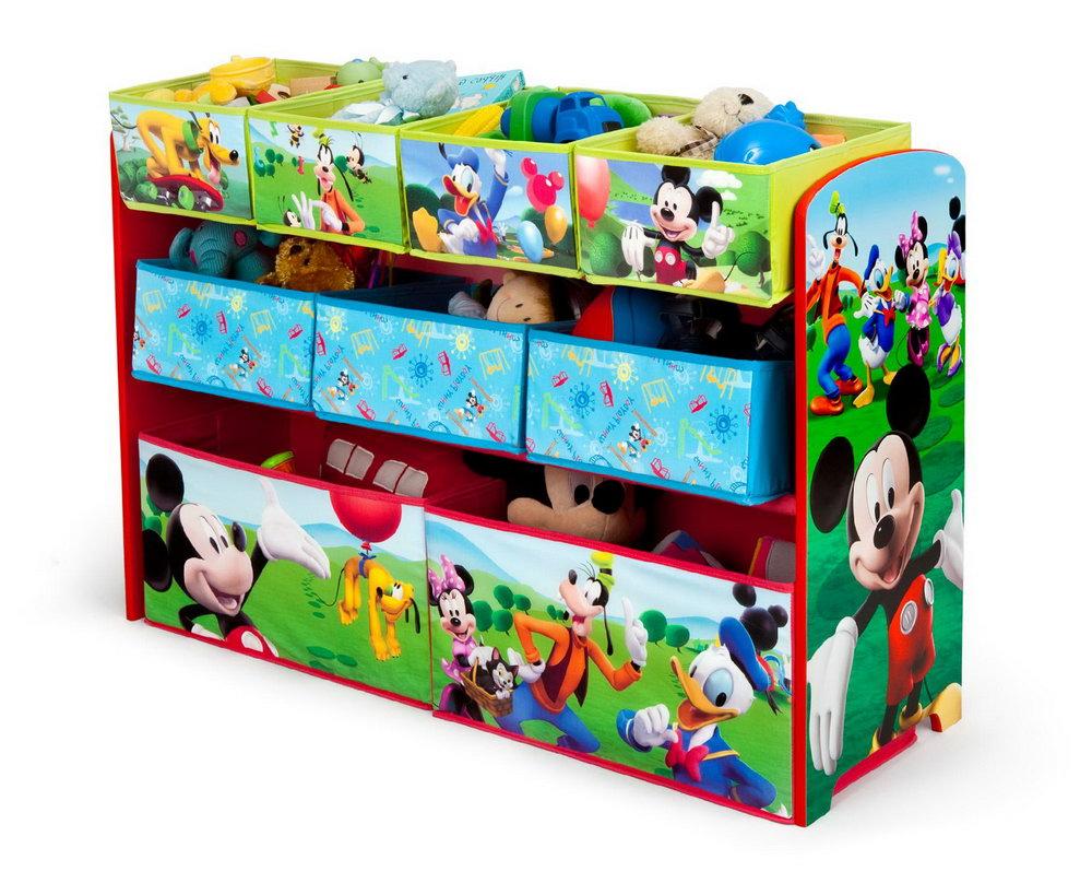 Children's Toy Bin Organizer