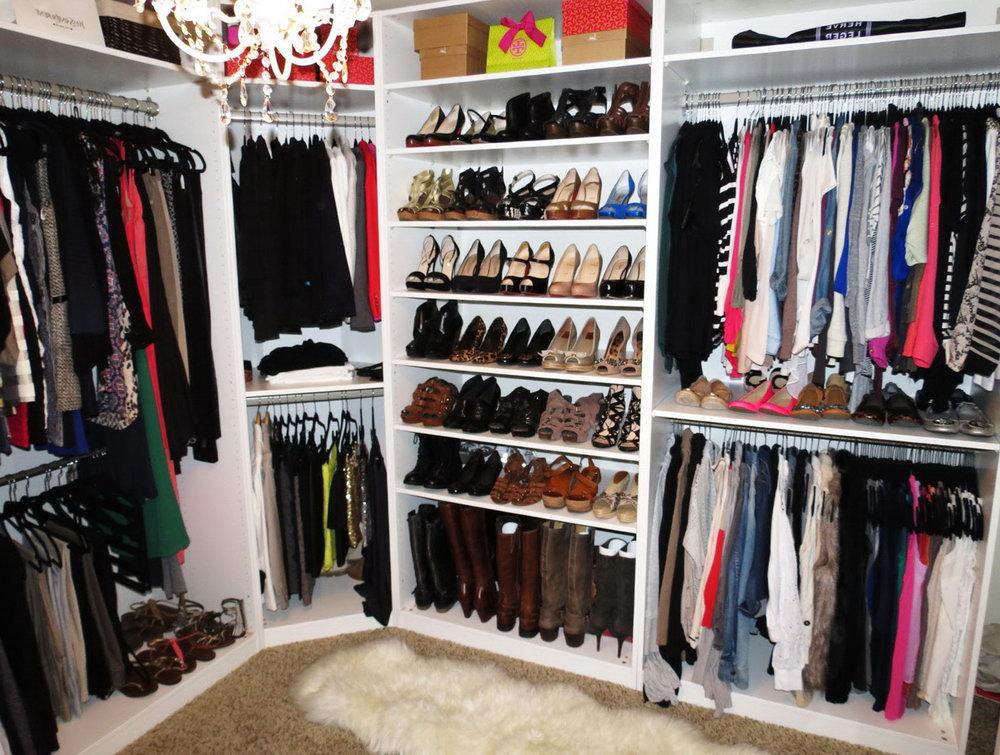 Closet Organizer Ideas For Small Walk In Closets