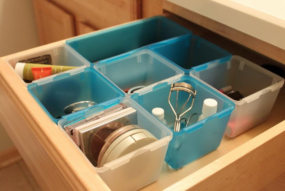 Deep Bathroom Drawer Organizer