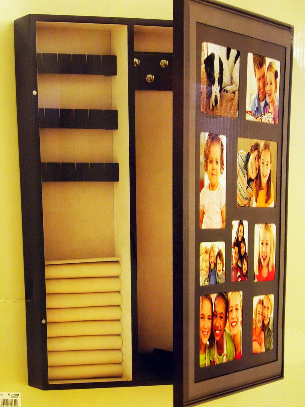 Diy Jewelry Organizer Picture Frame
