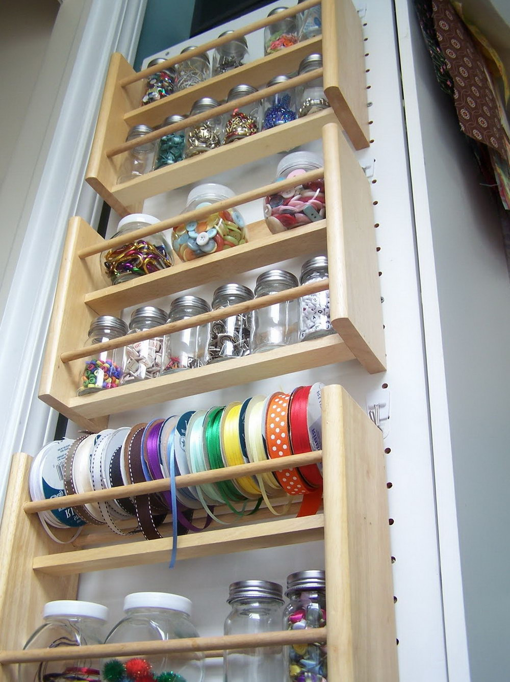 Drawer Spice Rack Organizer