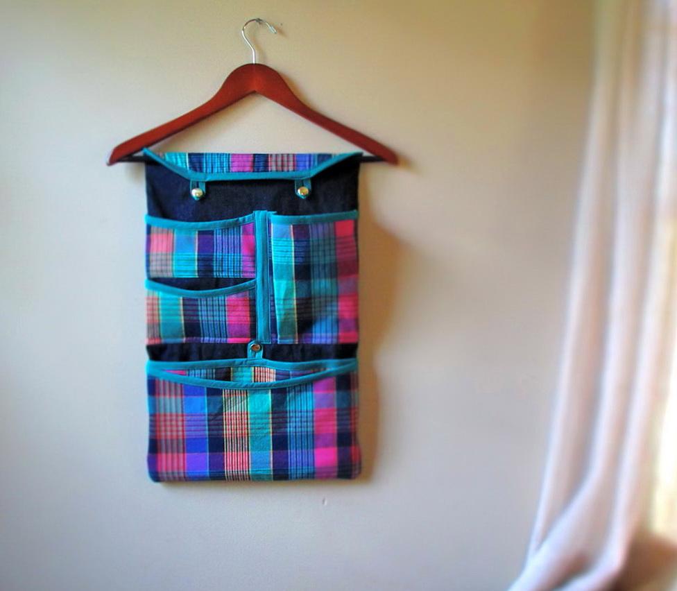 Fabric Wall Pocket Organizer