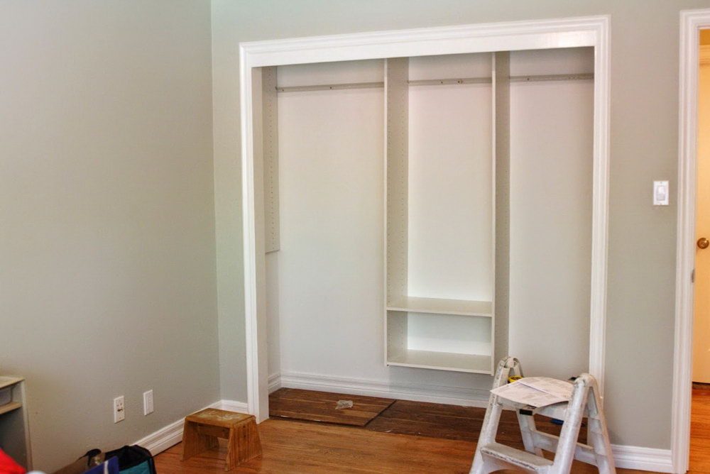 Home Depot Closet Organizer Installation