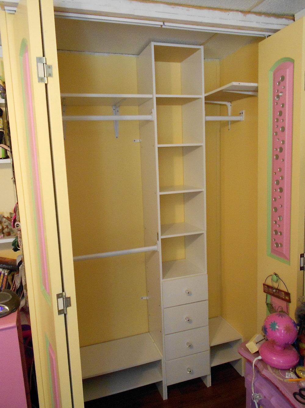 Home Depot Closet Organizers Installation