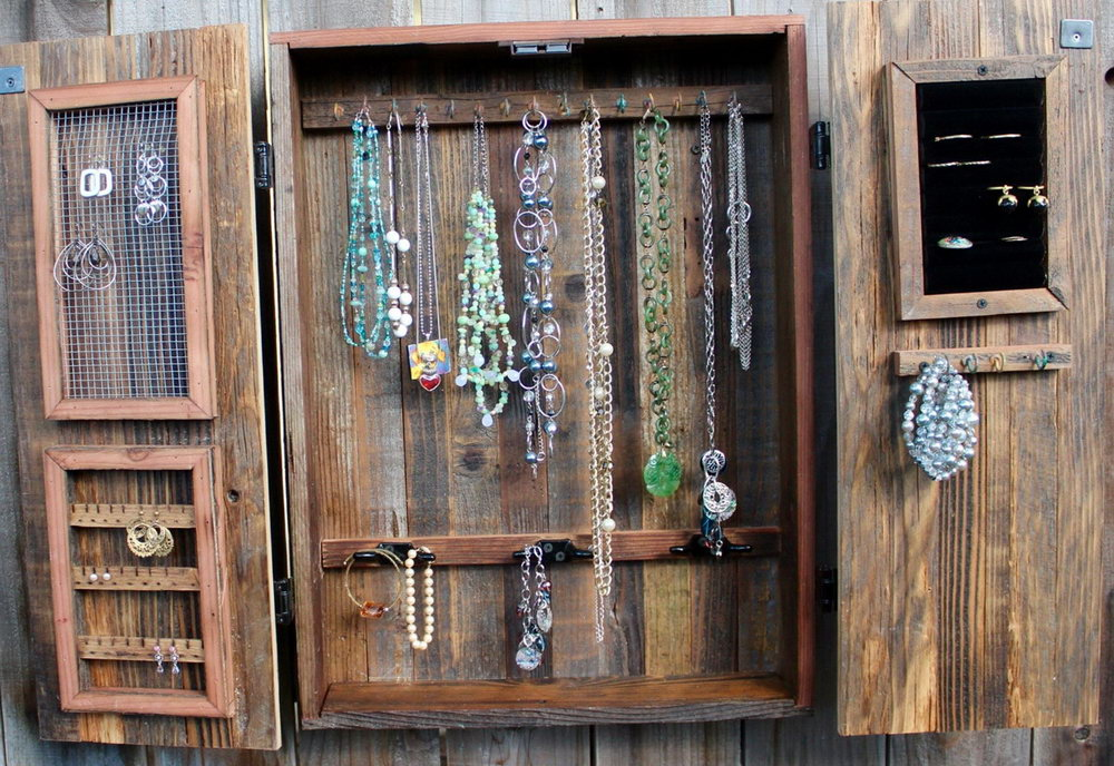 Jewelry Wall Organizer Ideas