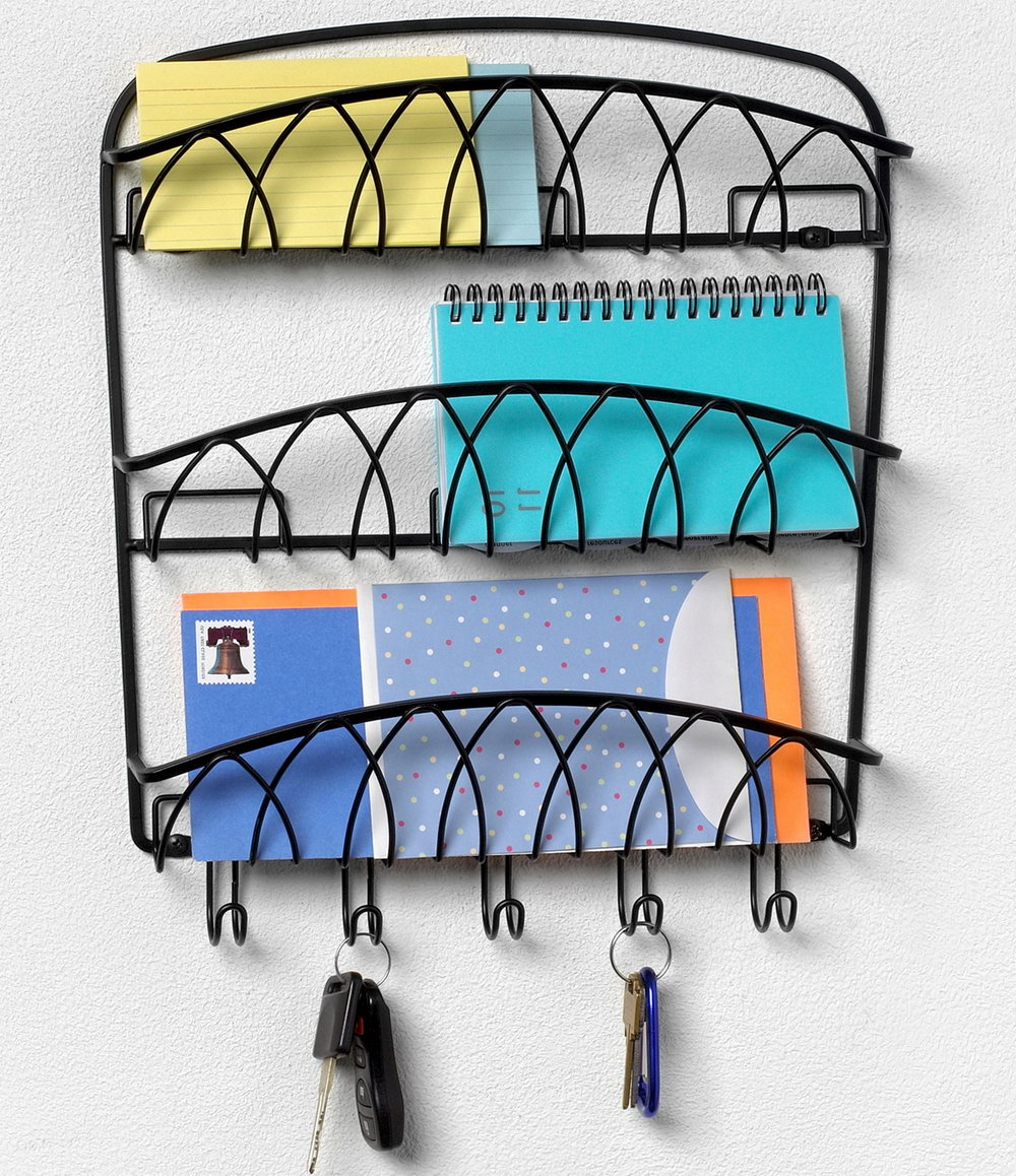 Key Mail Organizer Wall