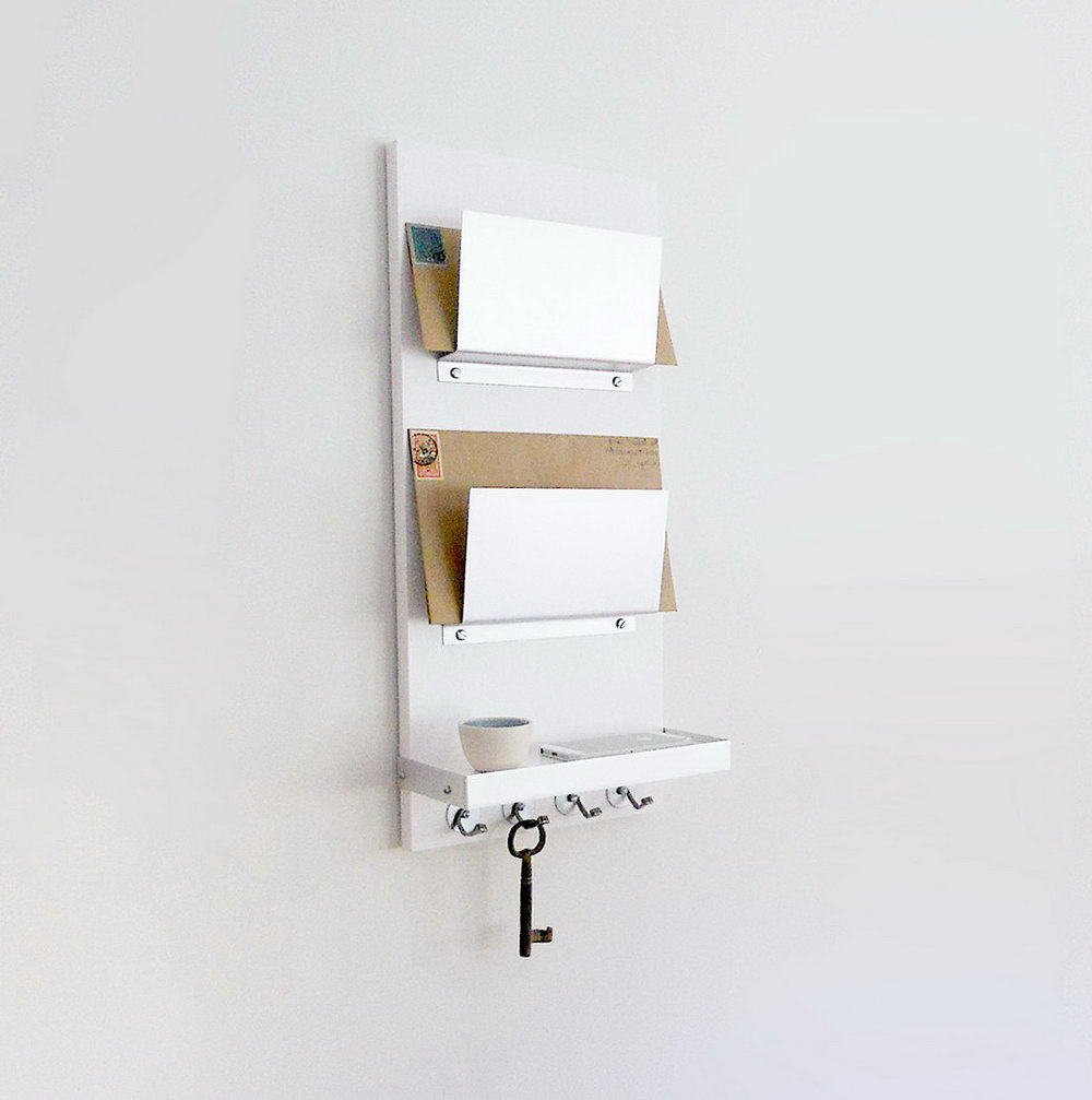 Mail Organizer Wall Mount Diy