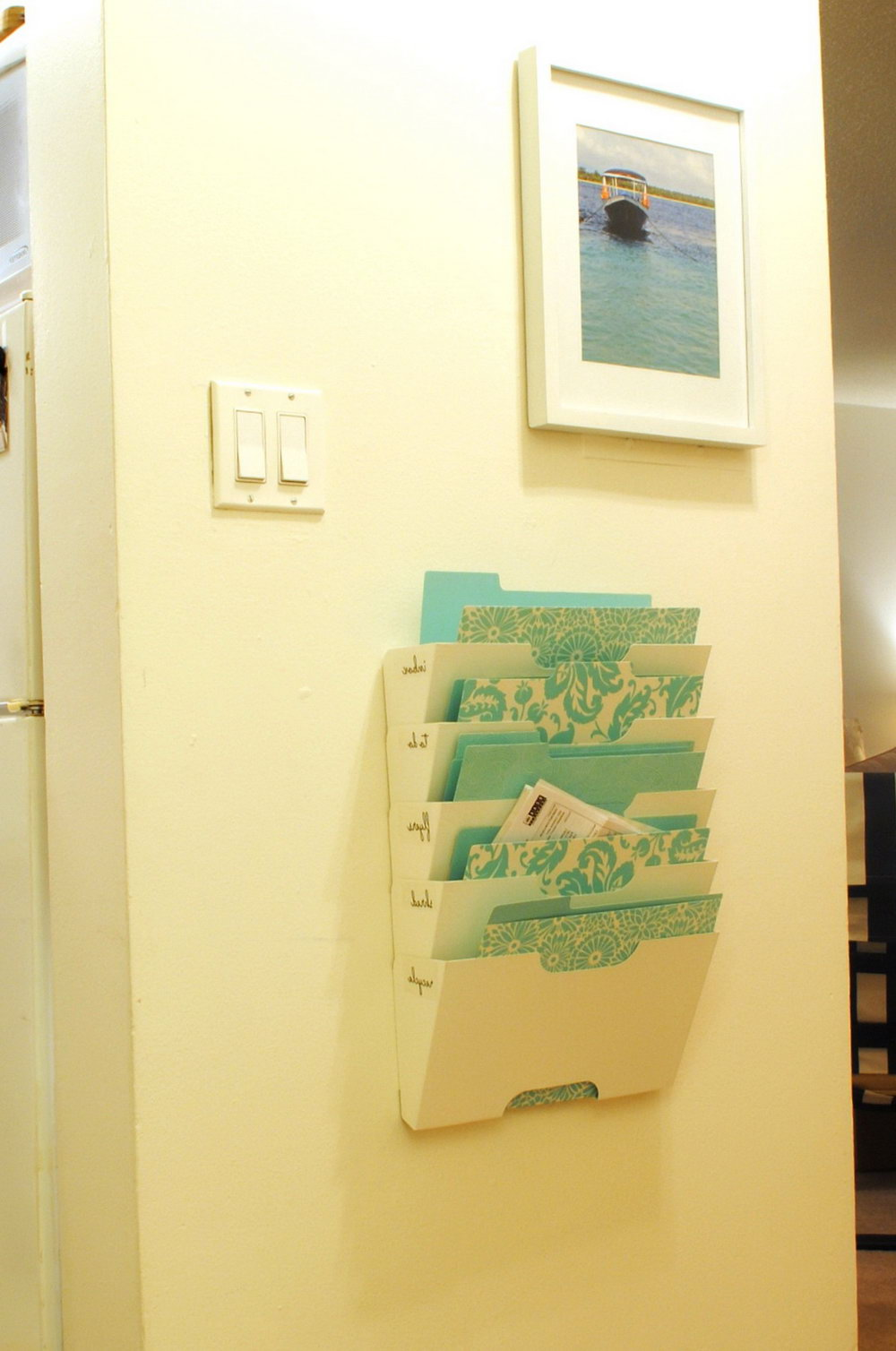 Mail Organizer Wall Mount