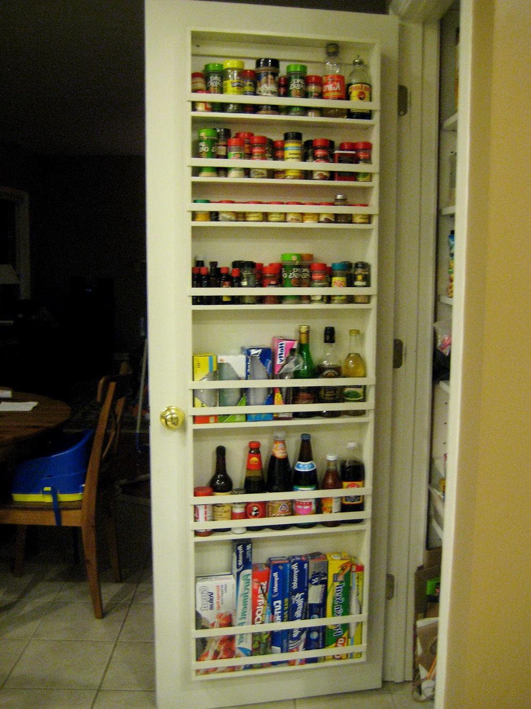 Pantry Door Organizer Diy
