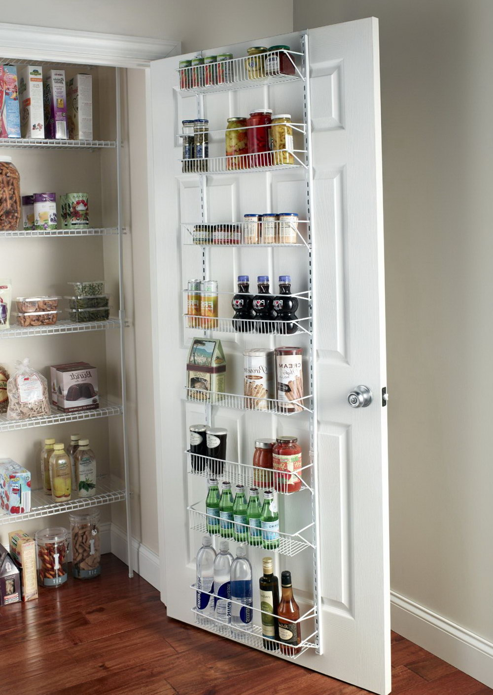 Pantry Door Spice Rack Organizer