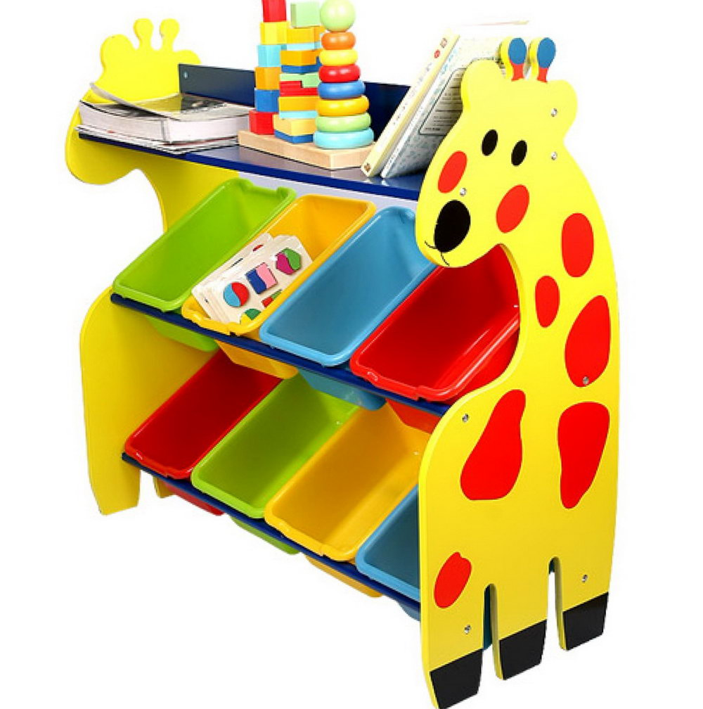 Plastic Toy Bin Organizer