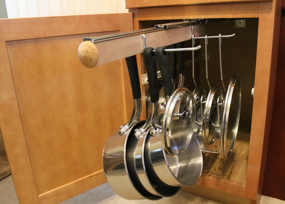 Pot And Pan Organizer For Drawer