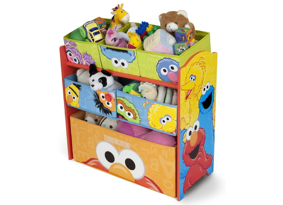 Sesame Street Multi Bin Toy Organizer