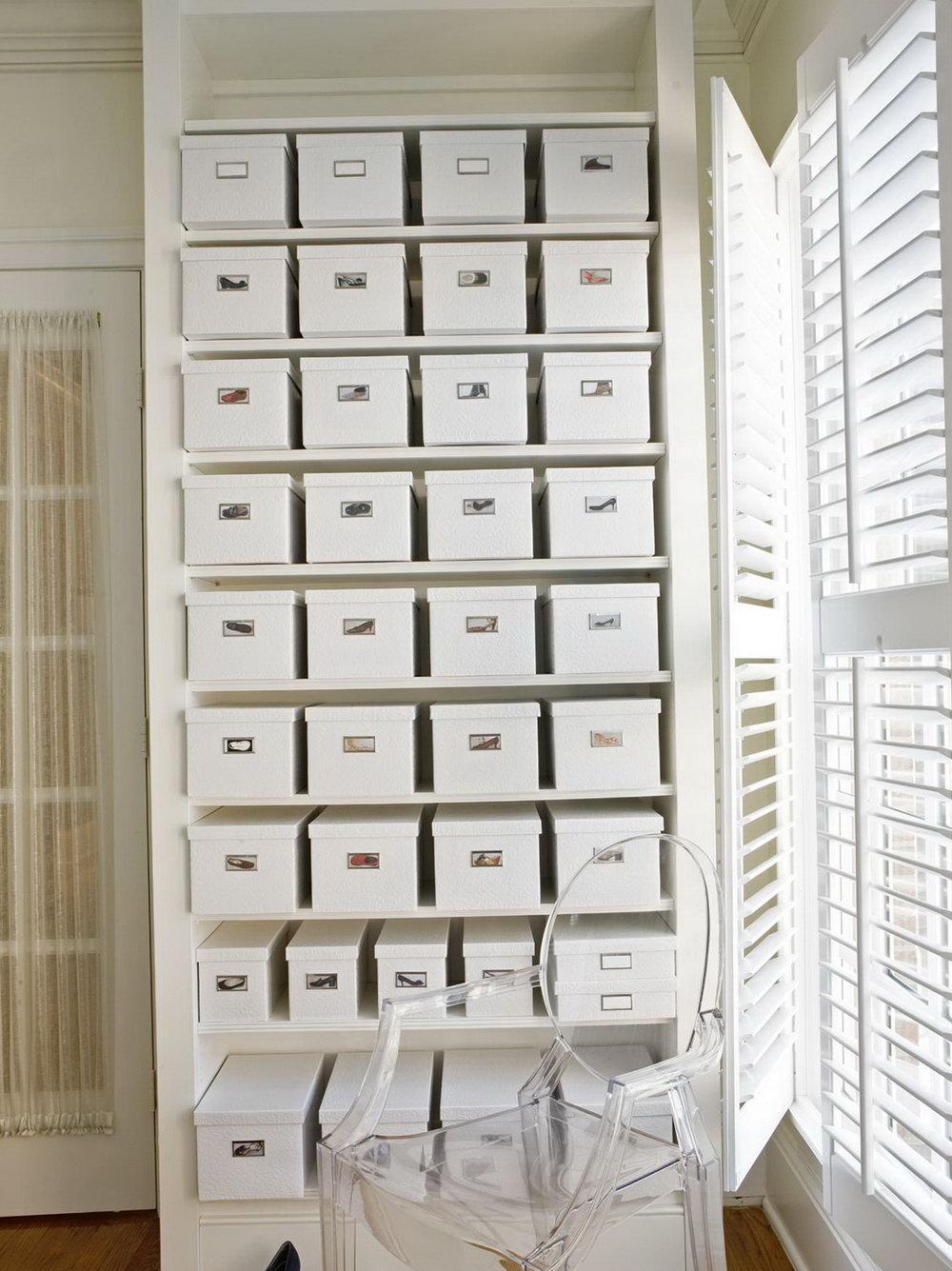 Shoe Box Closet Organizer