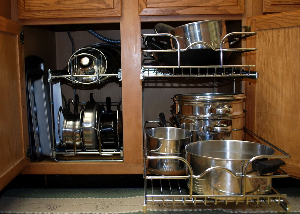 Slide Out Pot And Pan Organizer
