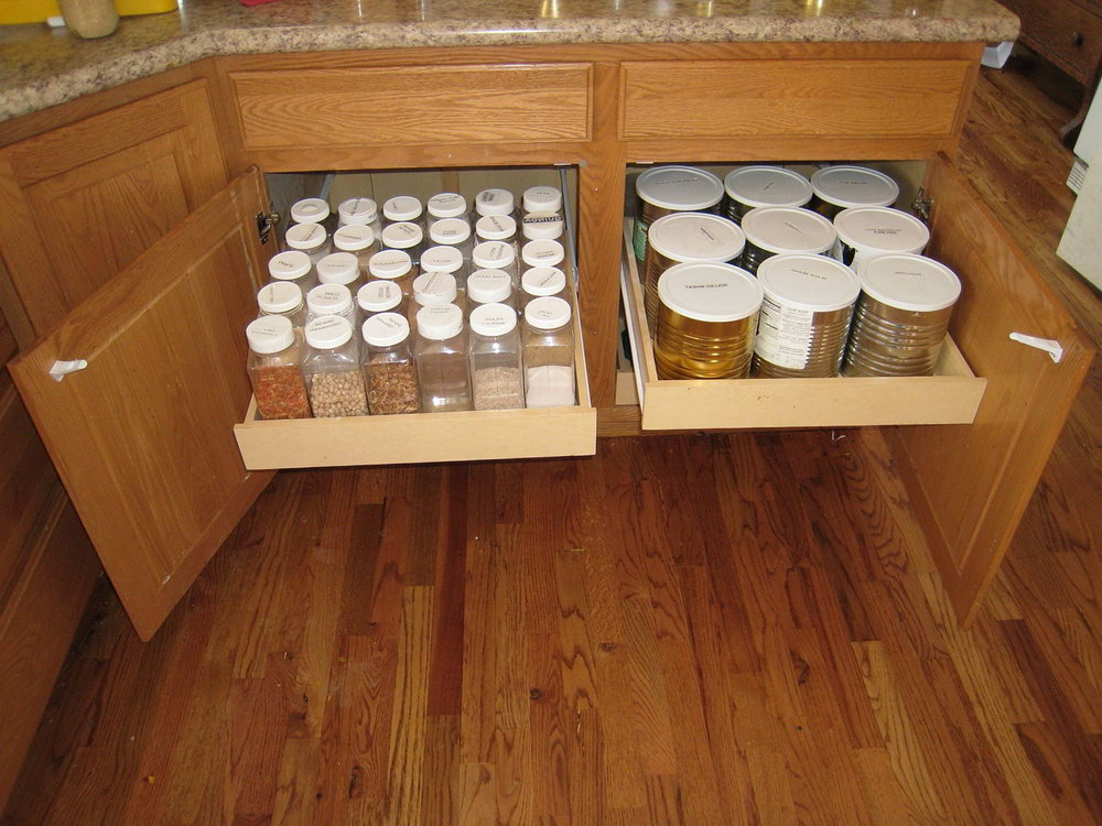 Spice Rack Organizer For Drawer