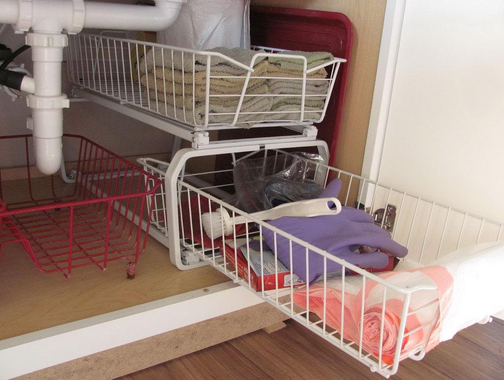 Under Sink Organizer Home Depot