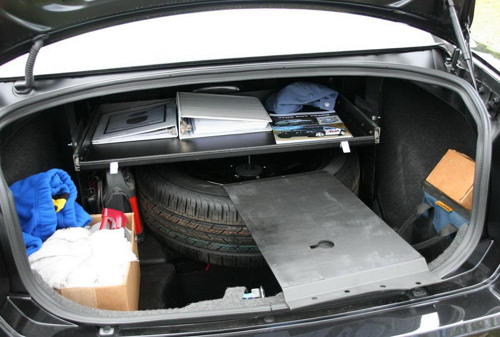 Velcro Car Trunk Organizer