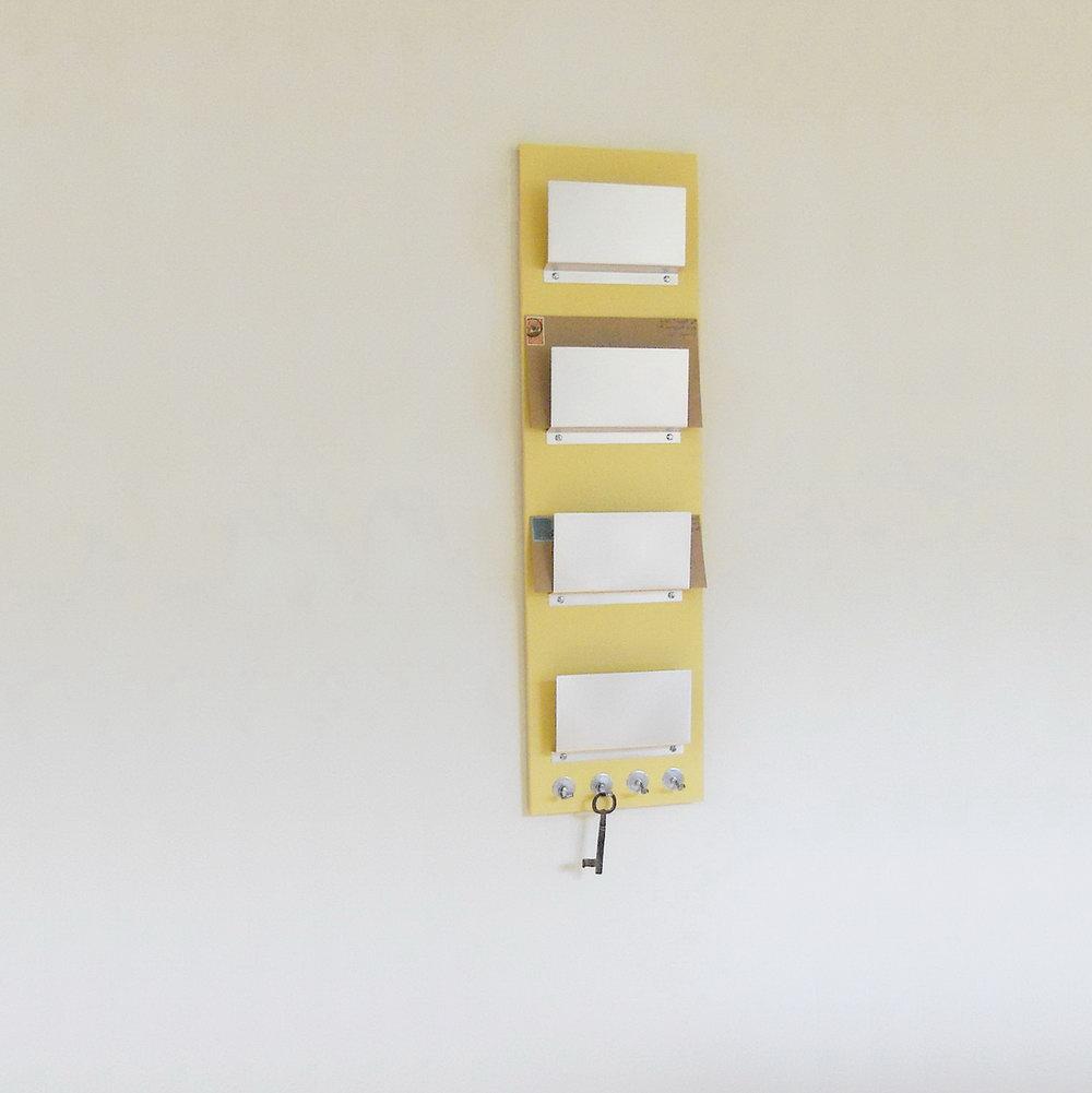 Wall Mounted Mail Organizer Storage
