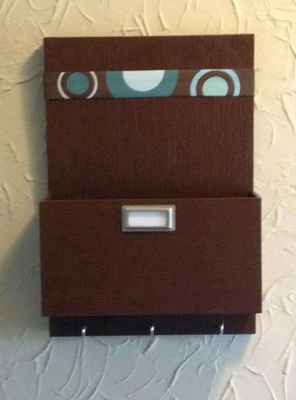 Wall Pocket Organizer Wood
