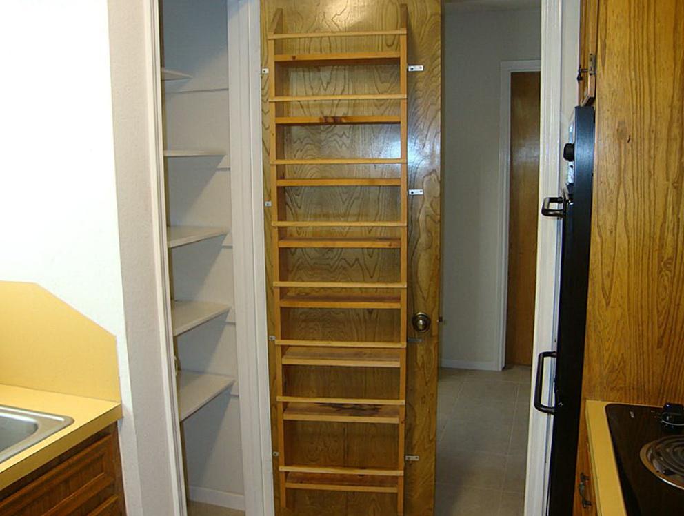 Wood Pantry Door Organizer