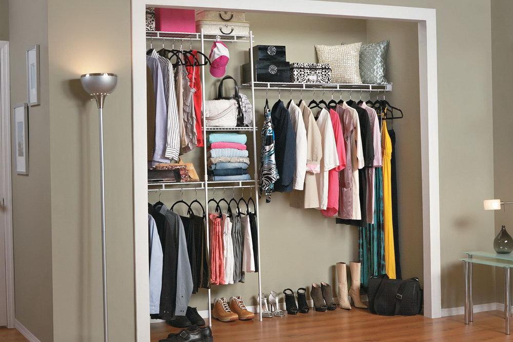 5 Ft Closet Organizer Kit