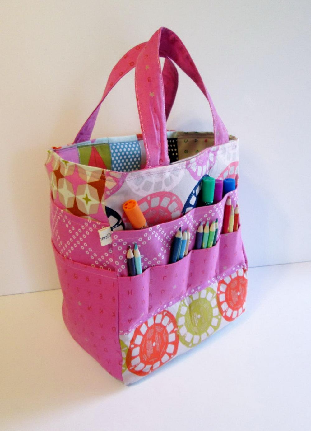 Art Supply Organizer Bag
