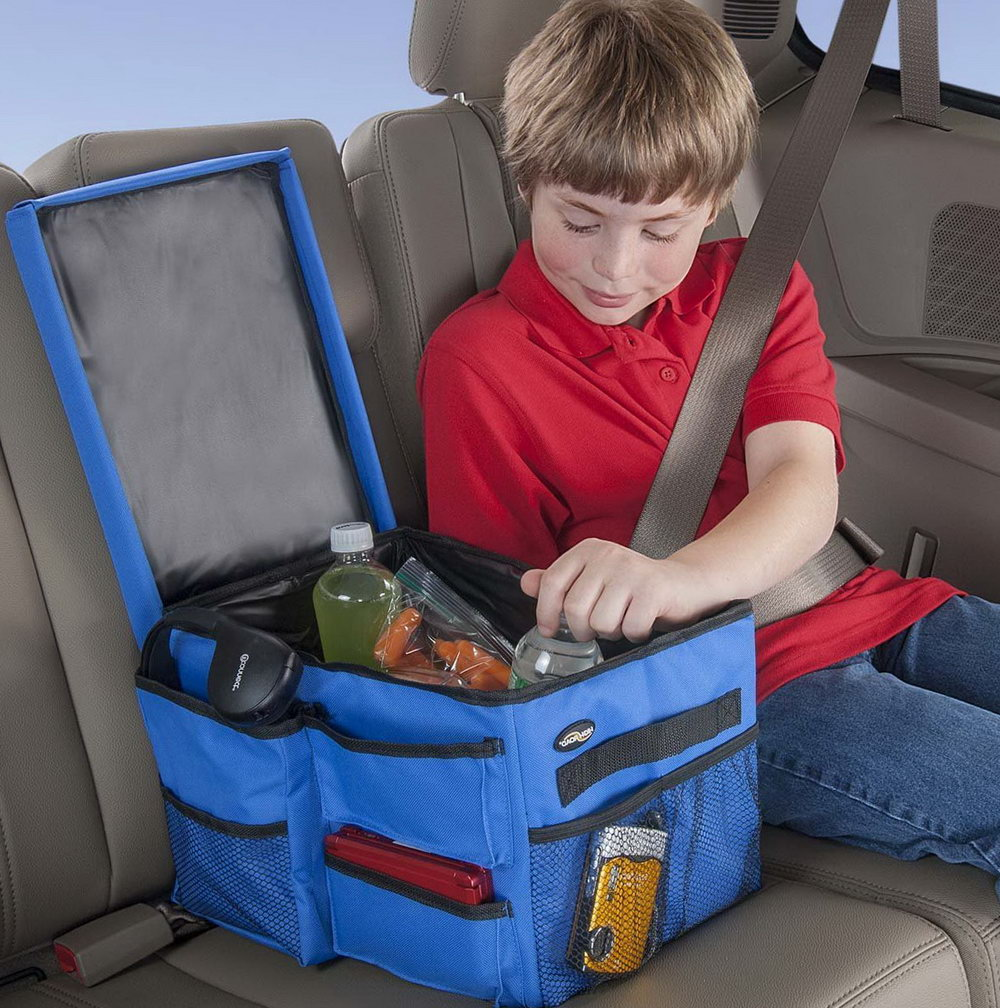 Backseat Car Organizer With Tray
