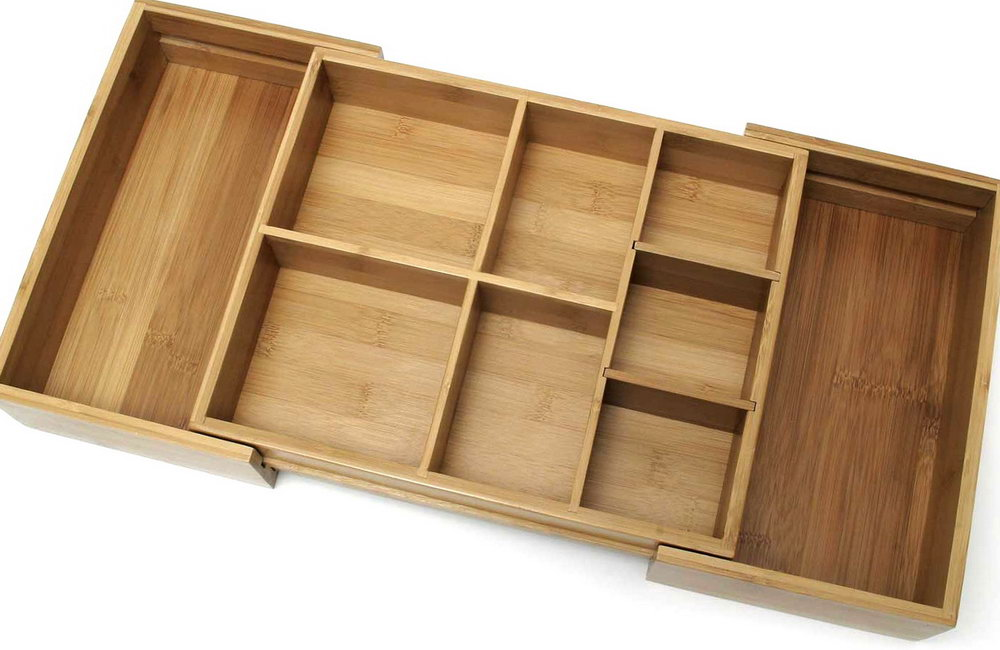 Bamboo Drawer Organizer Bed Bath And Beyond