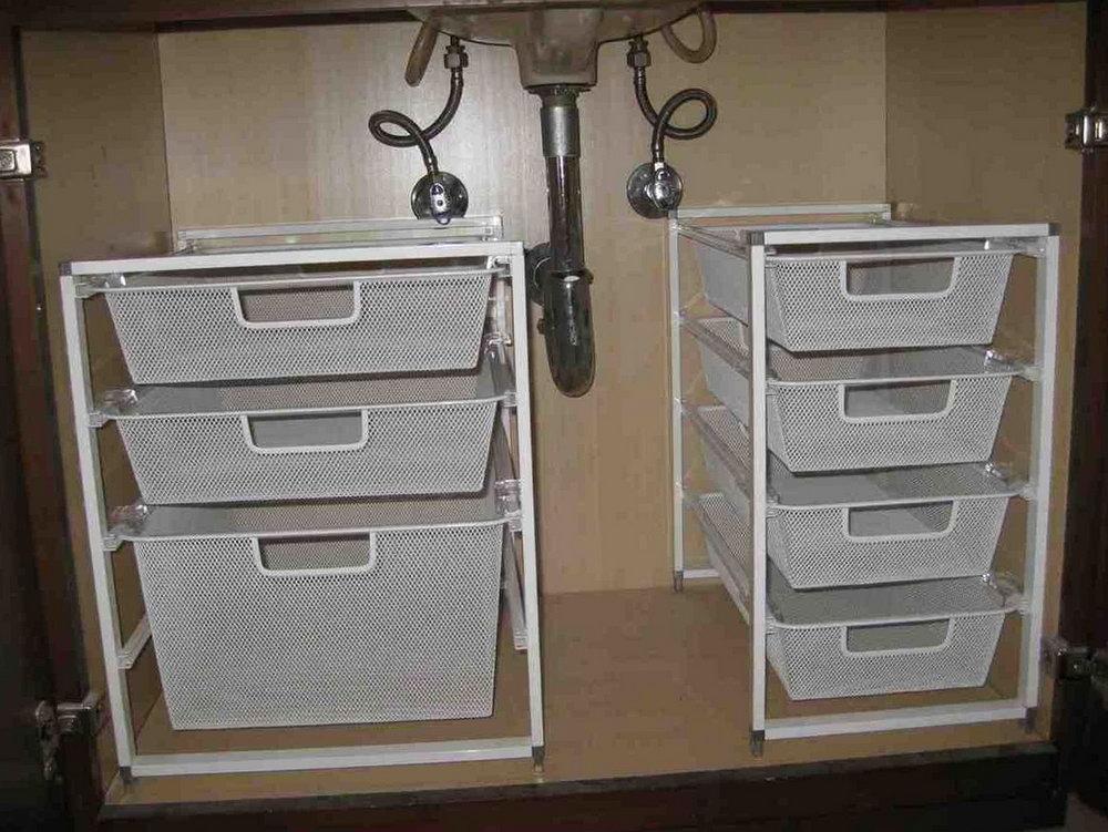 Bathroom Cabinet Organizer Under Sink