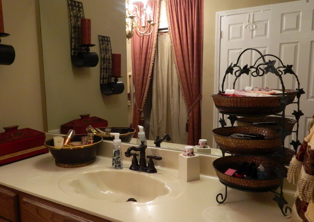 Bathroom Countertop Organizer Ideas