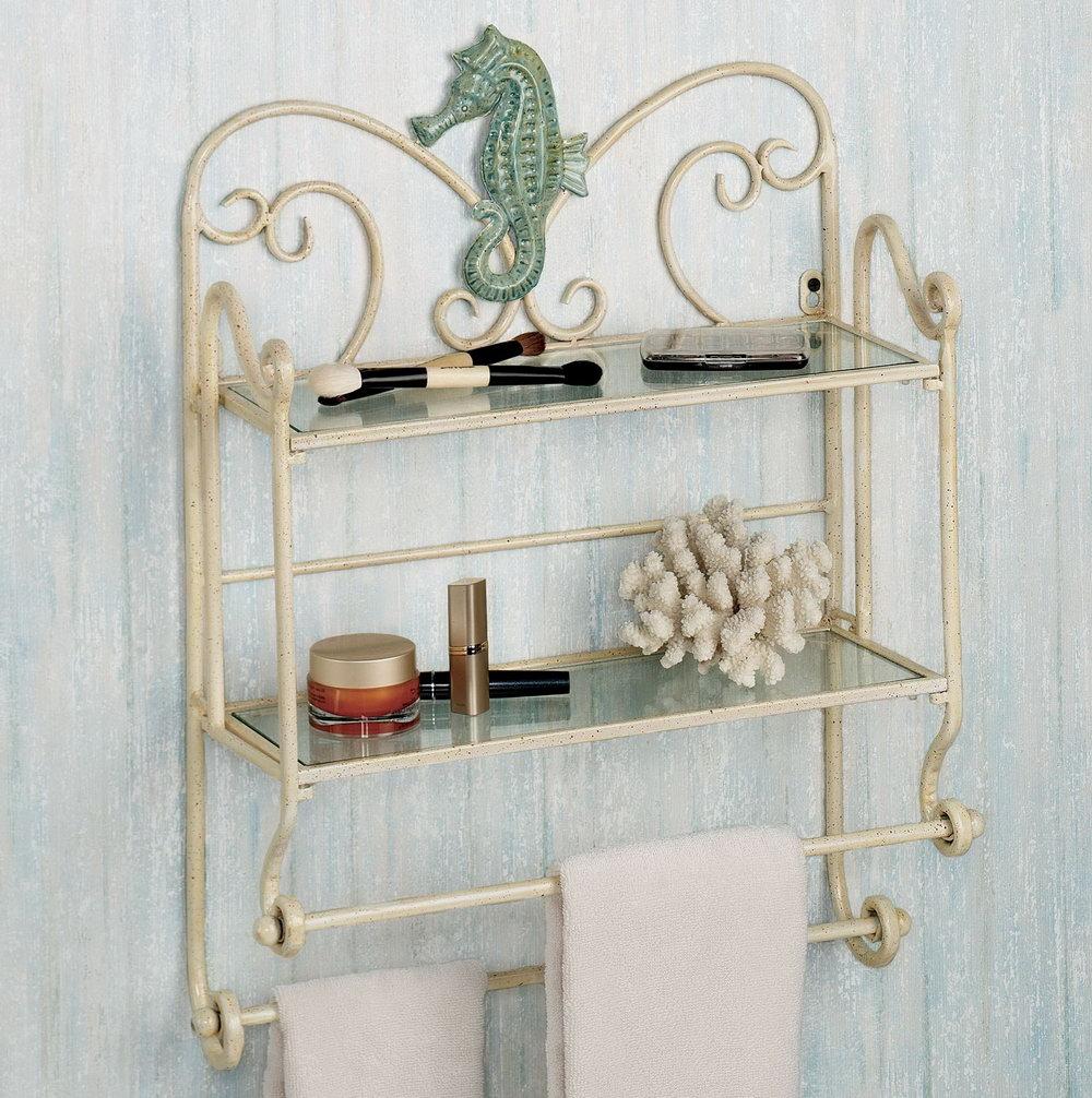 Bathroom Organizer Wall Shelf
