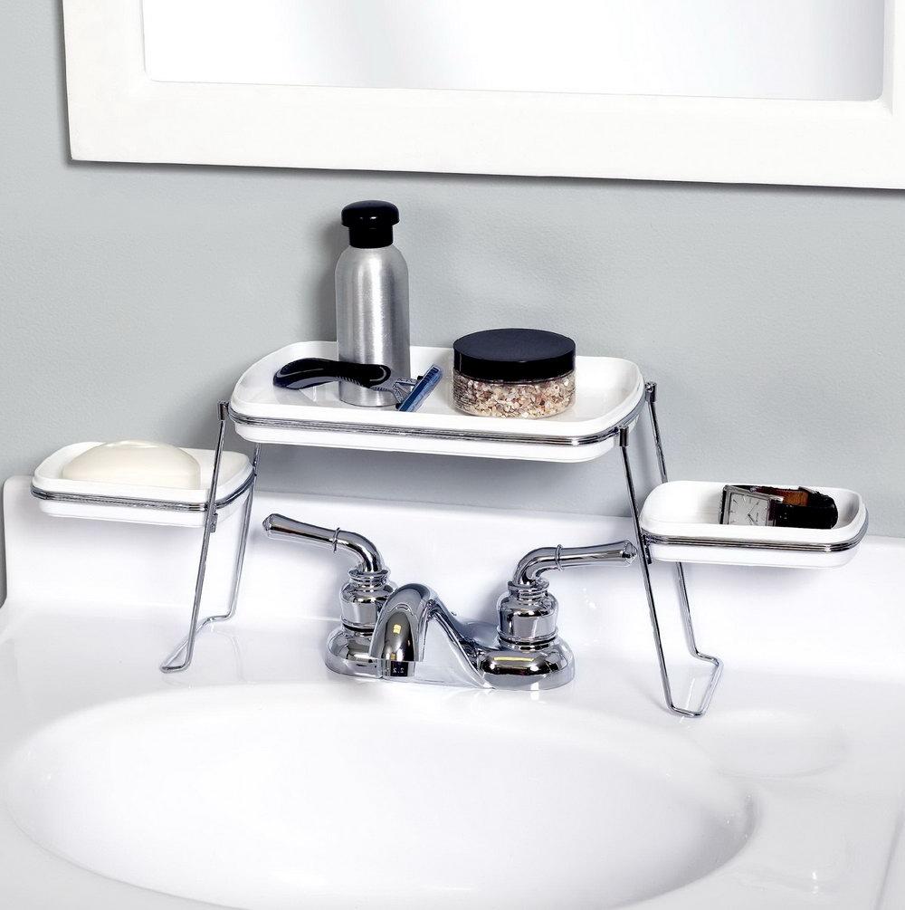 Bathroom Sink Top Organizer