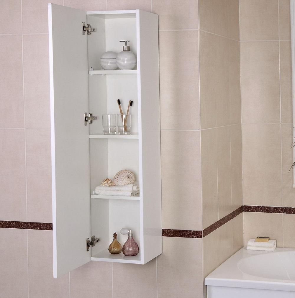 Bathroom Wall Organizer Shelves