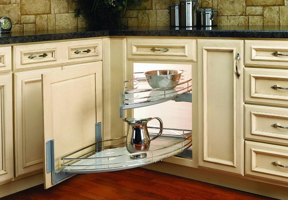 Blind Corner Kitchen Cabinet Organizers
