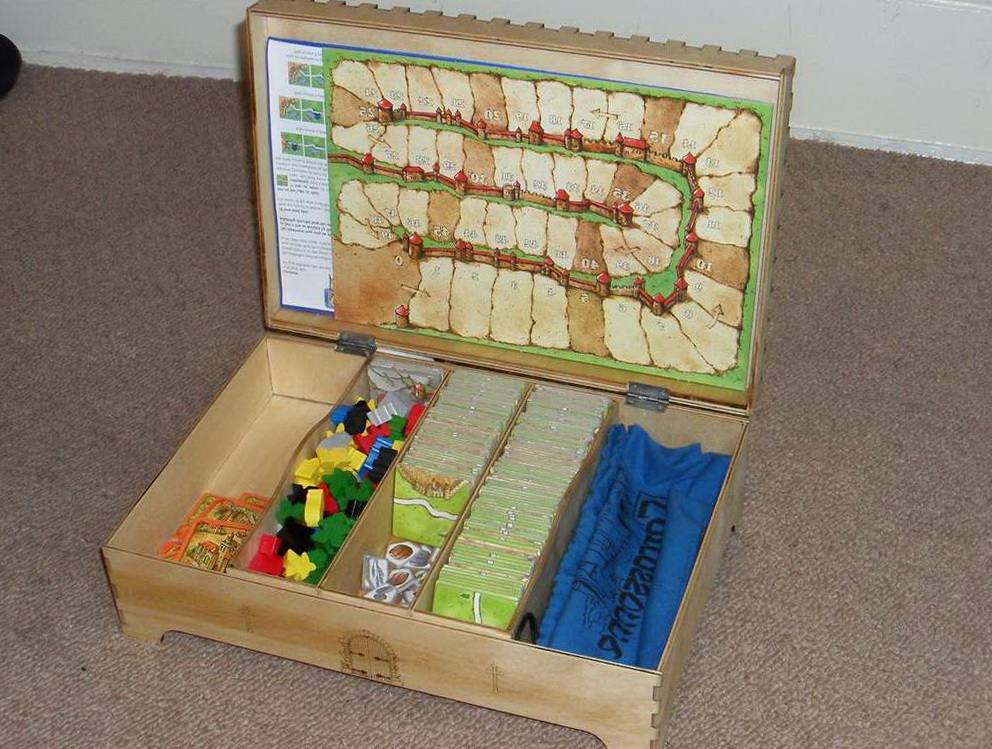 Board Game Organizer Box