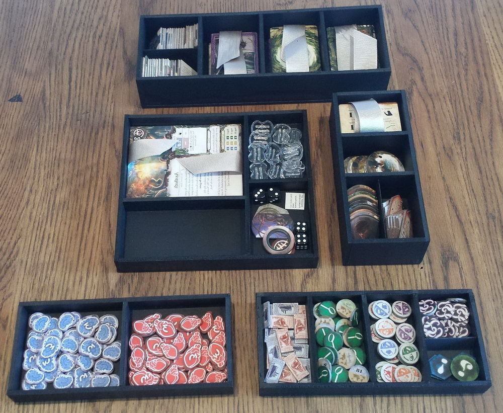 Board Game Organizer Storage
